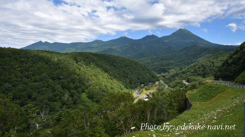 知床連山と羅臼岳