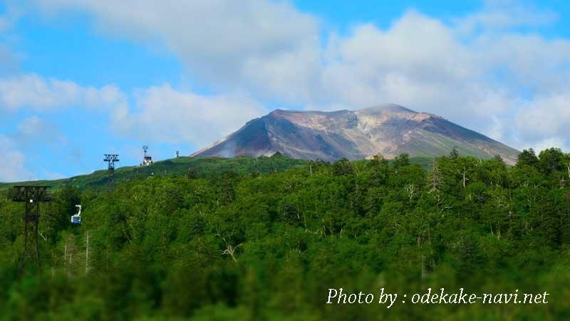 旭岳ロープウェイからの大雪山(旭岳)