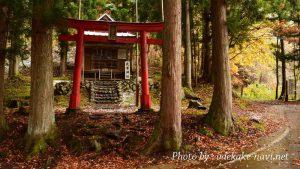 武尊山登山口の武尊神社