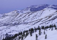 冬の草津白根山