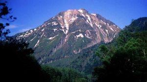 上高地から焼岳