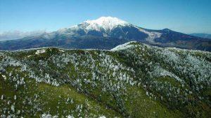 小秀山から望む御嶽山