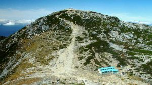 中岳から望む木曽駒ヶ岳