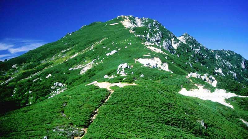 駒石からの空木岳