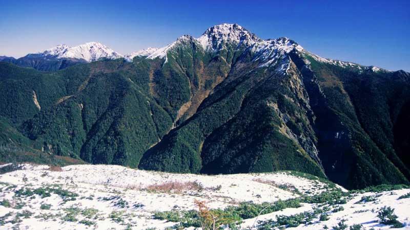 塩見岳の登山口+山登り準備なび~登山道・持ち物・登山用品