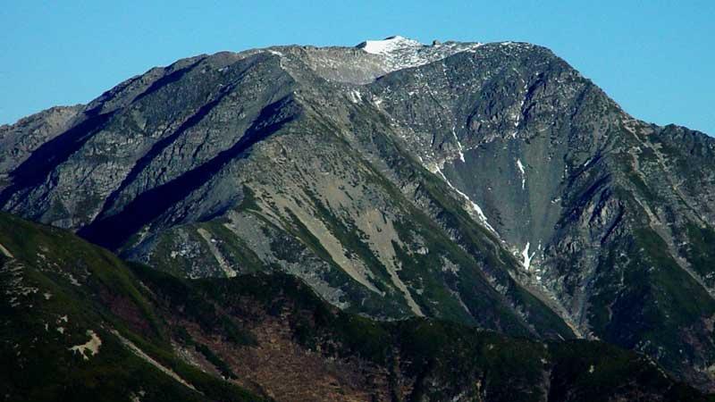 赤石岳の登山口+山登り準備なび~登山道・持ち物・登山用品