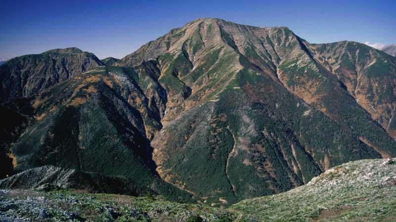 聖岳~南岳