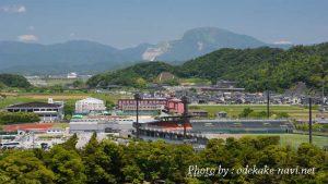 彦根城からの伊吹山