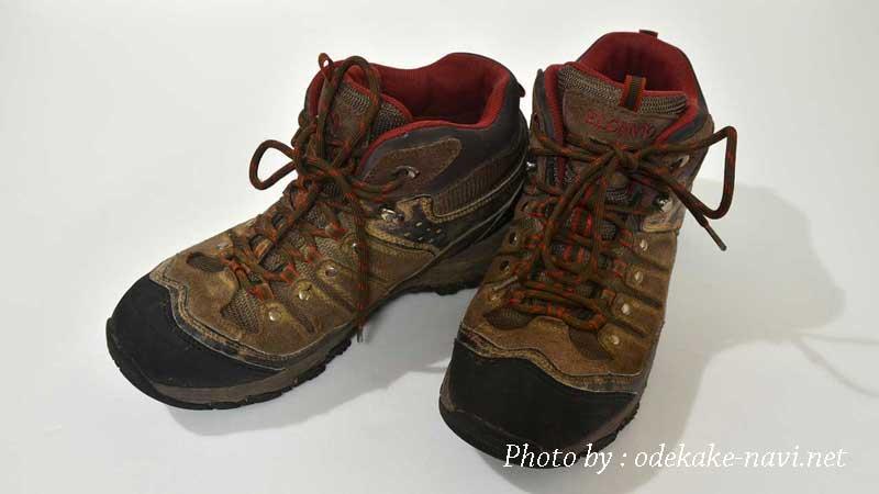 5千円台の登山靴の選び方 - トレッキングシューズで山登りに行こう!