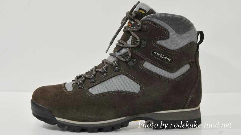 イタリアtrezetaの登山靴