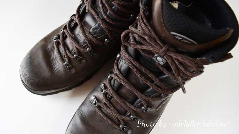 LOWAの登山靴のタホープロ