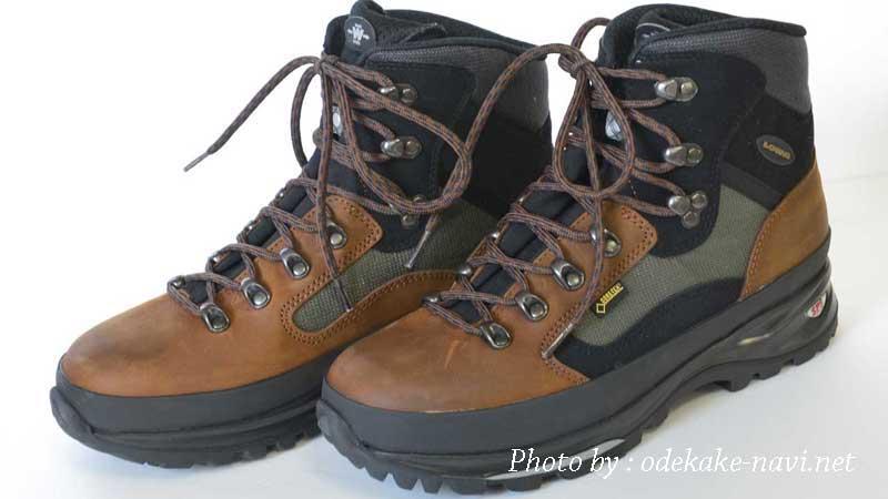 LOWAの登山靴のメリーナ