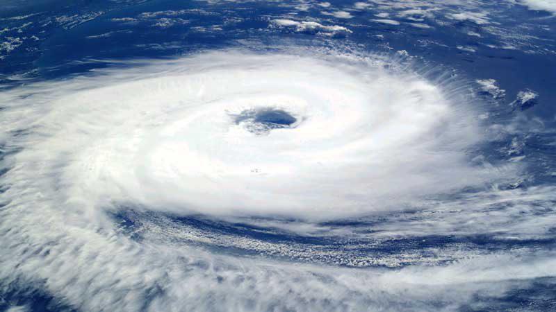 南大西洋の熱帯低気圧(台風)