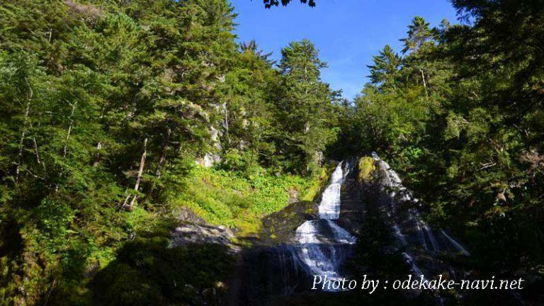 乗鞍岳前の三本滝