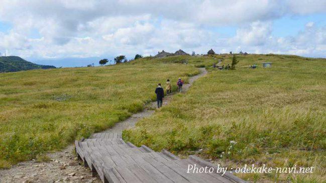 美ヶ原の牛伏山登山道