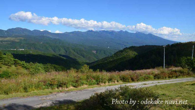 車山肩からの八ヶ岳