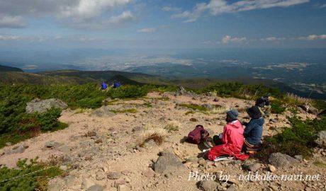 安達太良山からの展望