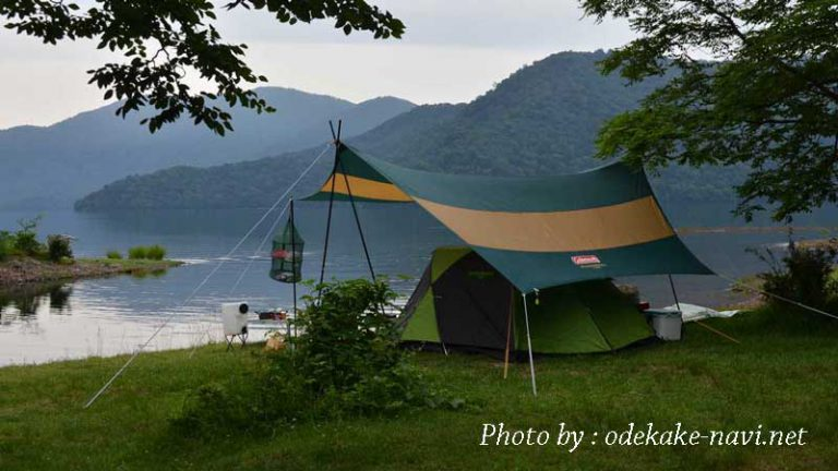 菖蒲ヶ浜キャンプ場のテント