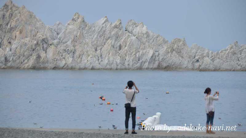 浄土ヶ浜からの浄土ヶ島