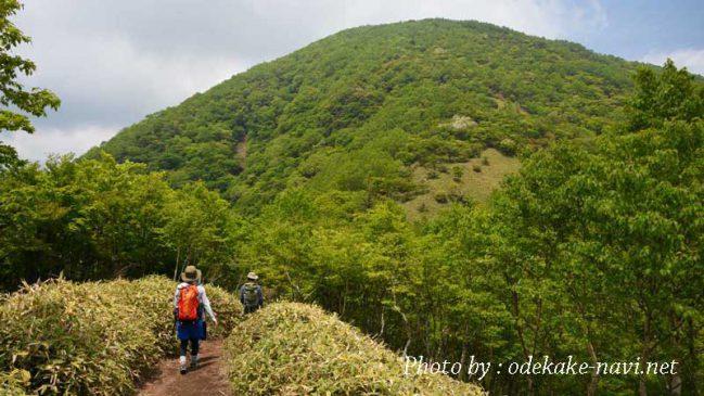 赤城山の黒檜山
