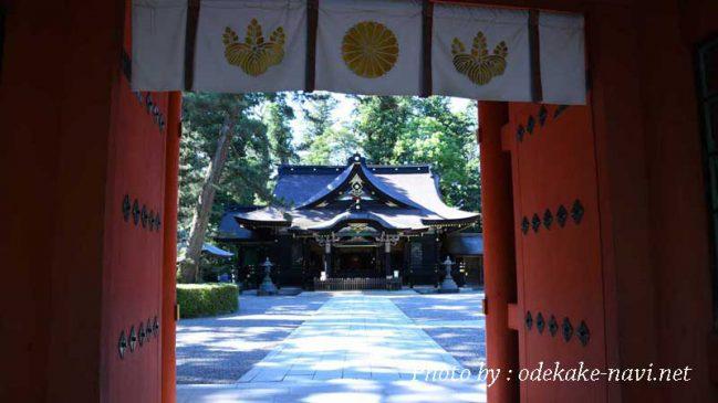 香取神宮拝殿
