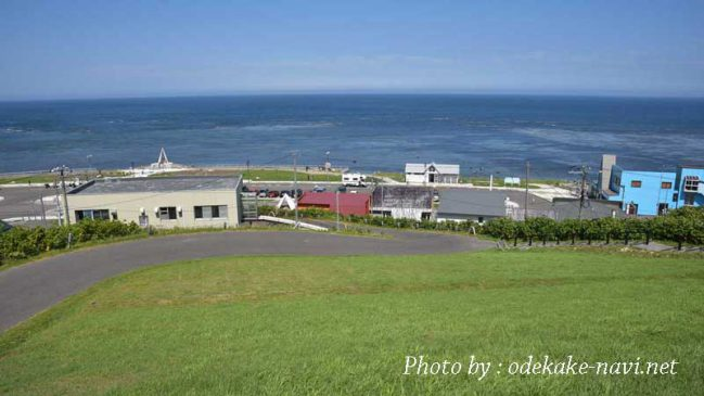 宗谷岬公園からの間宮海峡【北海道】