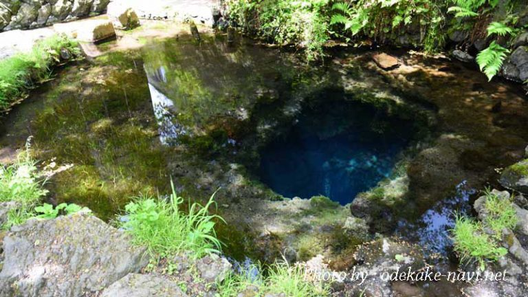 忍野八海の御釜池