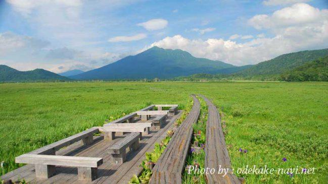 尾瀬ヶ原からの燧ヶ岳