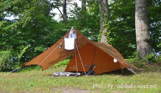 テントの種類と選び方例 - ソロキャンプ初心者なび