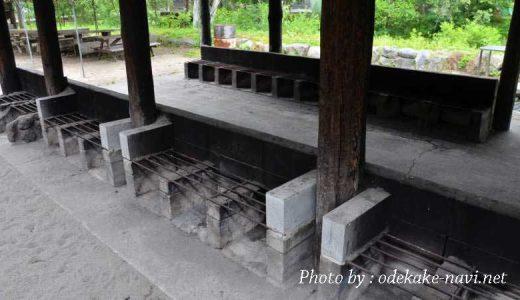 菖蒲ヶ浜キャンプ場の炊事場