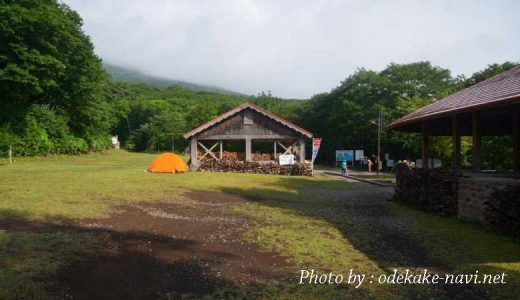 岩手山の馬返し登山口キャンプ場