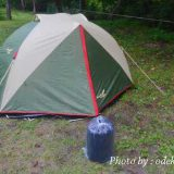 ツーリングテントと寝袋