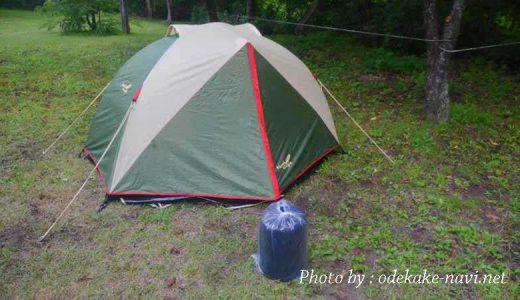 ドーム型のソロテントの構造を見てみよう - ソロキャンプ初心者なび