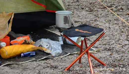 大山下山キャンプ場のソロキャンプ