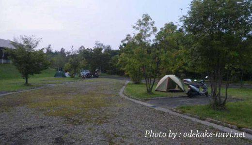 キャンプ場とツーリングテント