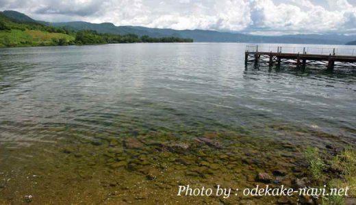 とうや水の駅からの洞爺湖