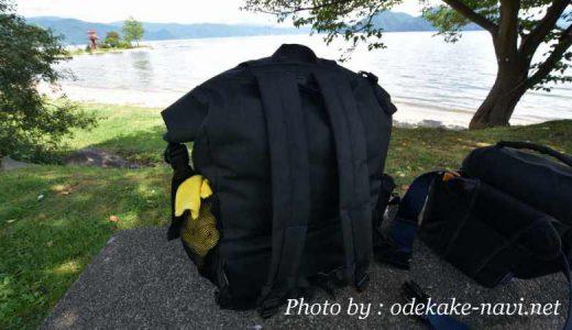 完全防水リュックと一眼レフズームバッグ