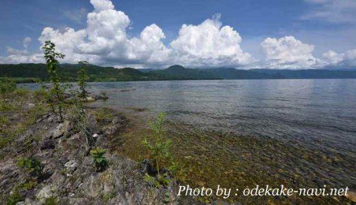 浮見堂公園からの洞爺湖