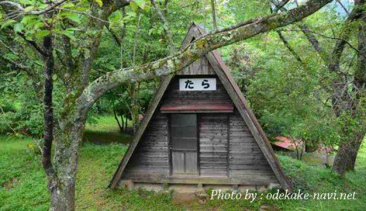 祖母山神原キャンプ場のコテージ
