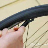 クロスバイクのタイヤ交換