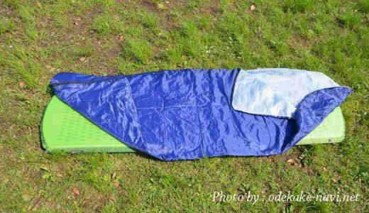 インフレーターマットと寝袋