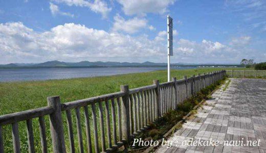サロマ湖のサギ沼駐車場