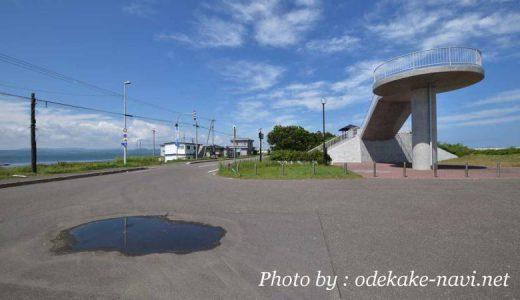 サロマ湖の龍宮台展望台